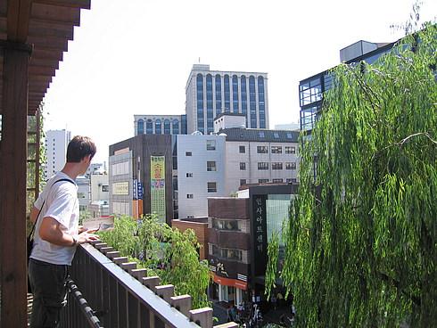 Вид с балкона...