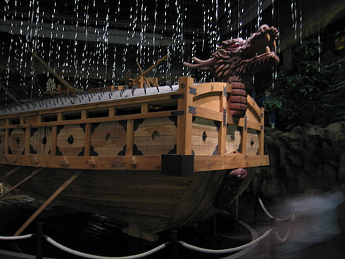 Легендарный корабль-Дра кон адмирала И - освободителя Кореи
