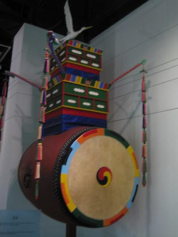 Барабан для обозначения времени начала военного похода