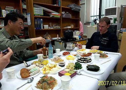 Корейская новогодняя еда