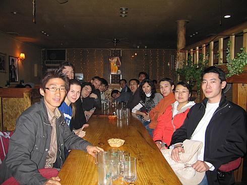 Русско-китайско-корейско-вьетнамская компания - в общем 16 человек
