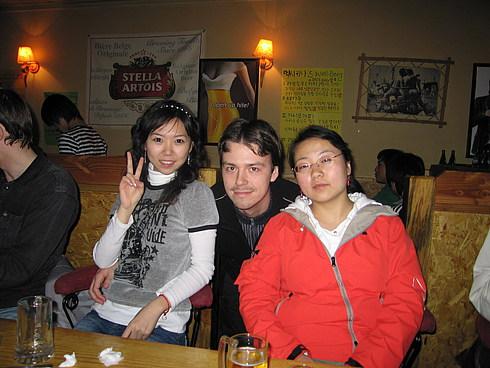 Вадим и китайские девчонки