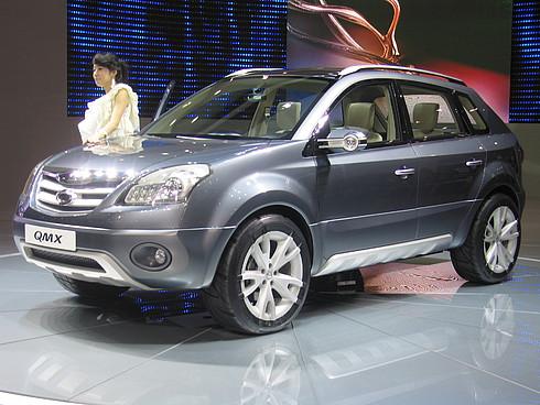 Самсон: Samsung QMX (еще один брат Туарега... А может Honda CR-V - новые модели внедорожников очень похожи)