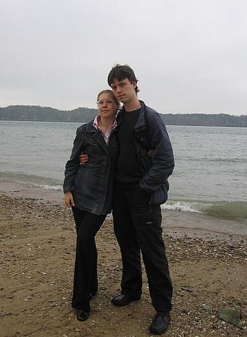 Мы на берегу Желтого моря - второй раз:)