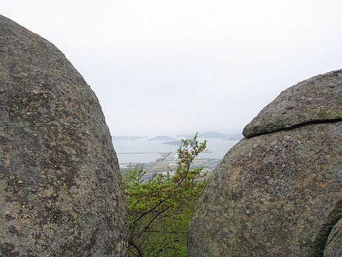 Вид на море с горы